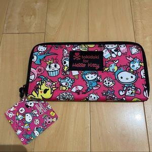 NWT tokidoki hello kitty wallet